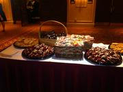 After dinner snacks were set out for guests.