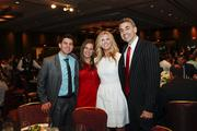 (Right) Milwaukee attorney David Gruber and some of his guests