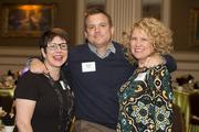 (From left) Pam Anderson of MARN, Jeremy Fojut of Art Milwaukee and Heidi Witz of Plaid Tuba
