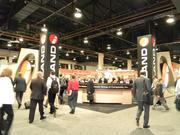 Retail and real estate executives from all over the world attend the convention.