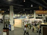 Retails and developers from all over the world have exhibits at the convention.