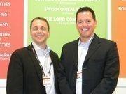(From left) Sheldon Opperman and Tyler Noel of Compass Properties