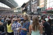 A concert can be lucrative for the Brewers because team gets the revenue from parking, food and merchandise.