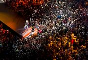 The concert drew more than 41,000 fans.