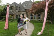 (From left) Meghan Bitenc and Colleen Reilly, co-chairs of the Wisconsin Breast Cancer Showhouse