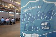 The Flying Car events will take place through June 10.