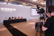 Kohl's executives videotaped the event.