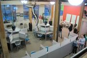 "The ""innovation factory"" event included a tour of Hudson Business Lounge in the 3rd Ward neighborhood."