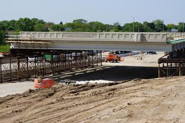 Bridge work on Rawson
