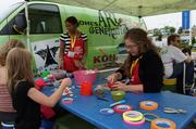 Kohl's Corp. sponsored an area for kids at the festival.