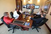 Johnson talks with her Rozman co-workers about wellness.  Click here for story