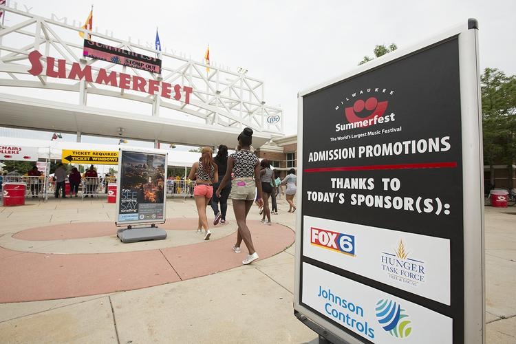 Summerfest grew attendance more than 4 percent in 2013.