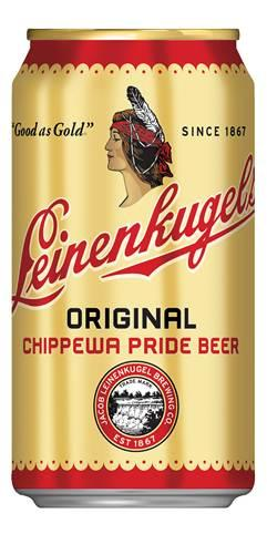 The new Leinenkugel's Original can is inspired by packaging from the 1940s.