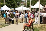 The Downtown BID 21 held events to give away free food each day during the special week.
