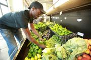 DeShawn Parker is executive chef at the cafe.Click here for story.