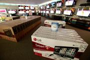 Hhgregg offers of variety of flat-screen TVs.