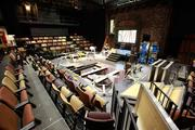The center offers a 150-seat black box theater with variable seating arrangements.Click here for story.
