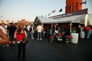 Bike Night offered food and refreshments to attendees.