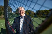 He started to seriously play tennis when he joined the Village Club in Greendale, a private swimming and tennis club.Click here for story.