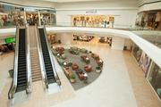 The renovation of the mall includes comforts like new furniture and carpeting inside the mall.