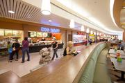 The work included an extensive renovation of the food court.