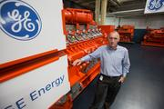 Brian White is president of GE's Waukesha gas engines business, the company once known as Waukesha Engine.Click here for story.