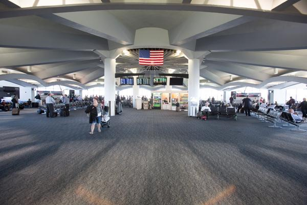 Passenger traffic at General Mitchell International Airport declined in 2012 because of a steep drop in connecting flights.