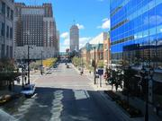 West Wisconsin Avenue, west of the Milwaukee River, was once the retail heart of the city.