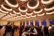 Guests gathered for a reception before attending a special concert by the Milwaukee Symphony Orchestra.