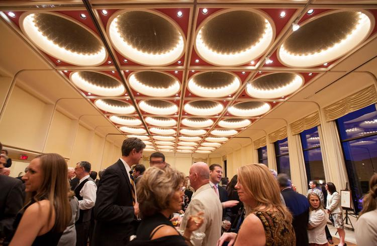 Allen Edmonds Shoe Corp. employees, suppliers and guests gathered Thursday evening at the Marcus Center for the Performing Arts.