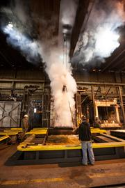 The Dolhuns bought Wisconsin Steel Industries last year and have begun moving  its massive furnaces and other equipment from a location at 1225 S.  41st St. to their plant.Click here for story.