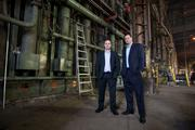 Jake Dolhun and TJ Dolhun own Wisconsin Steel Industries Inc. at 1500 S. Barclay St., a  former Grede Foundries Inc. site.Click here for story.