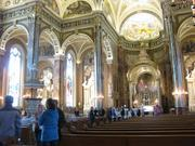 People check out Basilica of St. Josaphat, 601 W. Lincoln Ave.