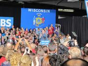 Gov. Scott Walker introduces Romney.