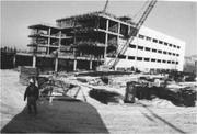 Construction of the original Froedtert Hospital was under way in 1979 and completed in 1980.