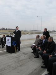"Wisconsin Constructors LLC project manager Patrick Wiseley said the company had a ""true partnership"" with DOT officials to get the project done ahead of schedule."