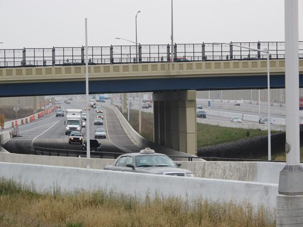 The Drexel Avenue interchange is opening about a week and a half after the completion of work on the Mitchell Interchange (above), about four miles north on I-94.