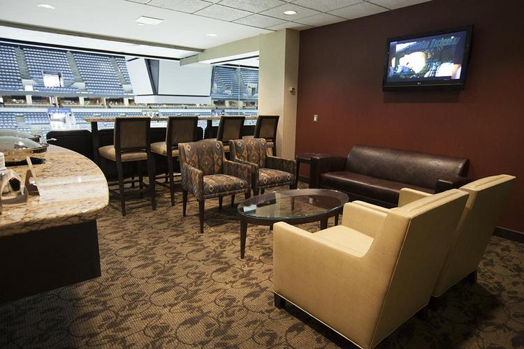 The suites received a complete makeover at the BMO Harris Bradley Center.