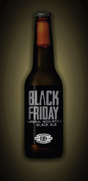 Lakefront will sell its exclusive beer Black Friday only at its brewery, 1872 N. Commerce St., for one day — Black Friday.