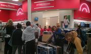 Target opened at 9 p.m. Thursday to try and take advantage of the early crowds.