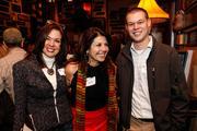 (From left) Susie Falk, Falk Group; Gail Valenti, Salvation Army; and Brock Diedrich, Falk Group