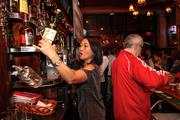 WTMJ-TV (Channel 4) anchor Susan Kim was one of the celebrity bartenders.