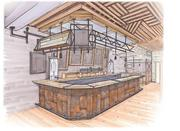 A Flux Design rendering of the interior of the Riverwest Filling StationClick here for story.