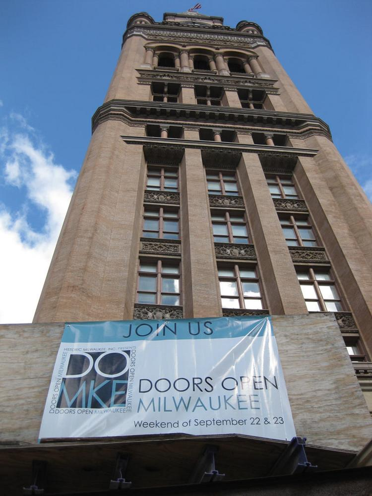 Milwaukee City Hall was one of the buildings open for special tours.