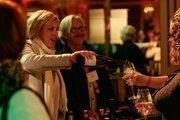 Robert Sinskey Vineyards employees poured samples of wine. The vineyard is located in Napa, Calif.
