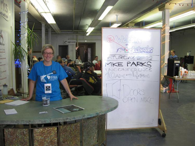 """Co-working space Bucketworks was one of the sites open for public tours during last fall's """"Doors Open Milwaukee"""" event."""