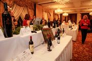 Many bottles of wine were among the silent auction items.
