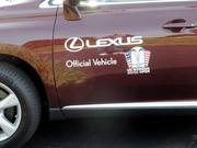 Lexus Rolex was a sponsor of the tournament and provided vehicles to the players and tournament officials.