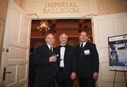 (From left) John Turner, Mike Brancato, and Jim Elliot of KHS USA Inc. of Waukesha