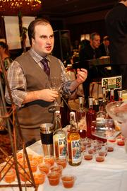 Christian Anderson, beverage manager for Nehring's Family Markets